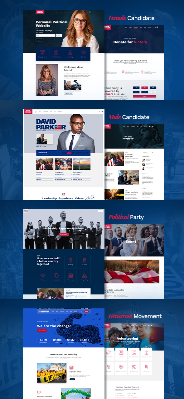 Vox Populi - Political Party, Candidate & Grassroots - 4